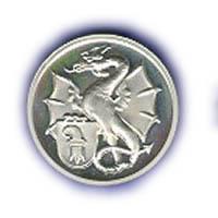 Medaille Basilisk